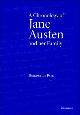 A Chronology of Jane Austen and her Family: 1700-2000