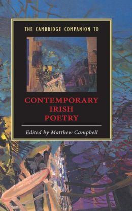 The Cambridge Companion to Contemporary Irish Poetry