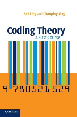 Coding Theory: A First Course