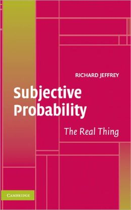 Subjective Probability: The Real Thing