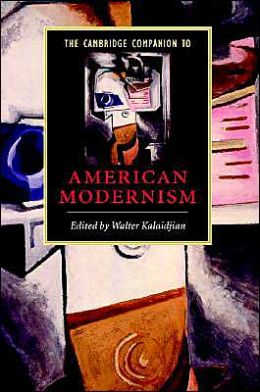 The Cambridge Companion to American Modernism