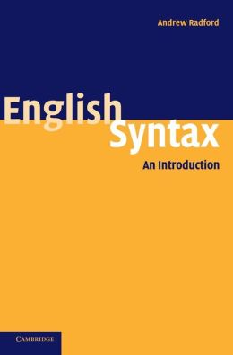 English Syntax: An Introduction