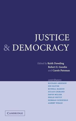 Justice and Democracy: Essays for Brian Barry