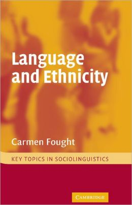 Language and Ethnicity
