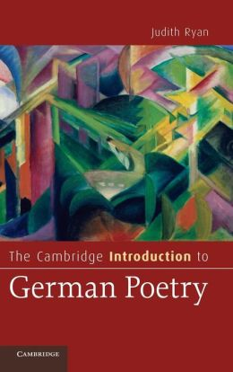 The Cambridge Introduction to German Poetry