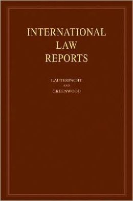 International Law Reports: Volume 134