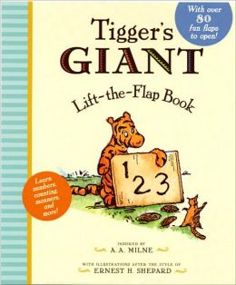 Tigger's Giant Lift the Flap