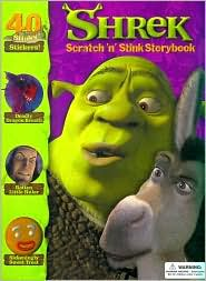 Shrek Scratch and Stink Storybook