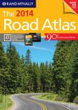 Book Cover Image. Title: 2014 Road Atlas, Author: Rand McNally