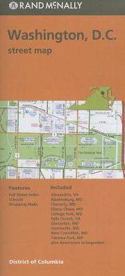 Washington, DC Street Map