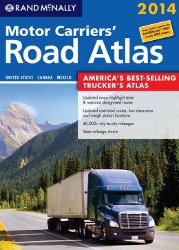 Rand McNally Motor Carriers' Road Atlas 2014