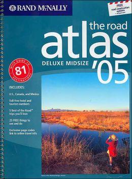 Rand McNally Deluxe Midsize Road Atlas 2005