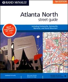 Rand McNally North Atlanta, Georgia Atlas