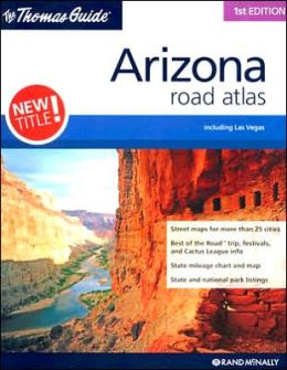 Rand McNally Arizona Atlas