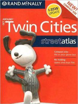 Rand Mcnally Get Around Twin Cities Street Atlas