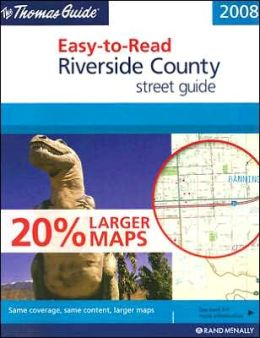 Riverside County, California Easy to Read Atlas