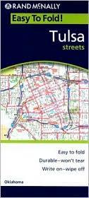 Tulsa, Oklahoma EasyFinder Map