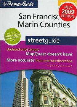 San Francisco/Marin Counties, California Atlas