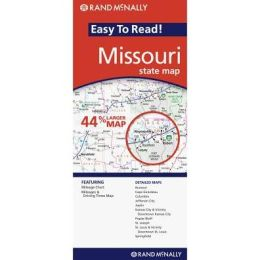Missouri Easy to Read Map