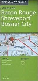 Baton Rouge/Shreveport/Bossier City, Louisiana Map