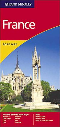 Rand Mcnally International France, 1999 Ed.