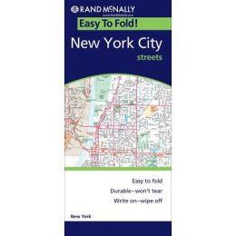 New York City, New York EasyFinder Map