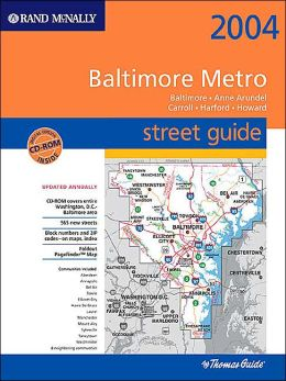 Metro Baltimore Atlas