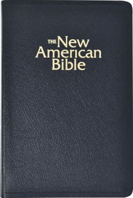 NAB Deluxe Gift and Award Bible: New American Bible, black bonded leather