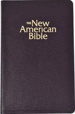 The Deluxe Catholic Gift Bible: New American Bible (NAB), burgundy bonded leather, thumb indexed, words of Christ in red