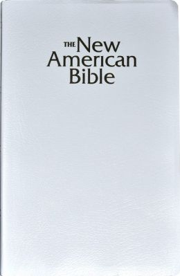 NABRE Gift and Award Bible, white imitation leather
