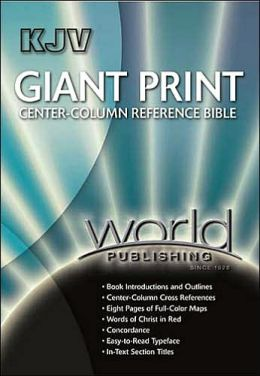 KJV Giant Print Center Column Reference Bible
