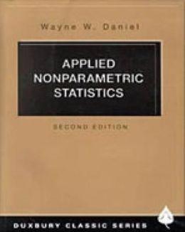 Applied Nonparametric Statistics