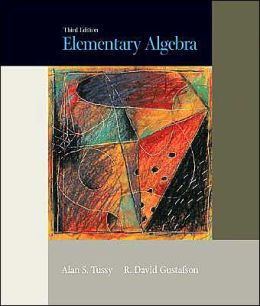 Elementary Algebra (with CD-ROM and iLrn Tutorial)