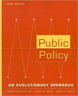 Public Policy: An Evolutionary Approach