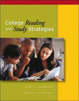 College Reading and Study Strategies (with InfoTrac )