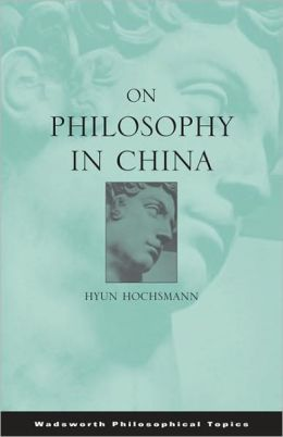 On Philosophy in China