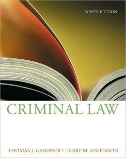 Criminal Law, 9th Edition