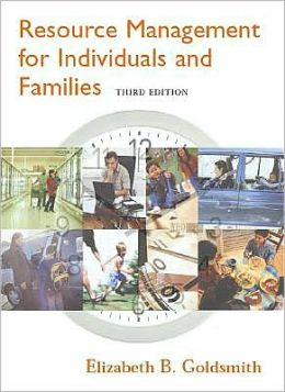 Resource Management for Individuals and Families, 3rd Edition