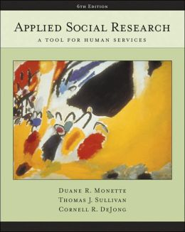 Applied Social Research: A Tool for Human Services