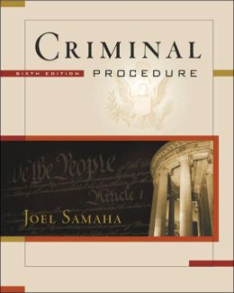 Criminal Procedure (with CD-ROM and InfoTrac )