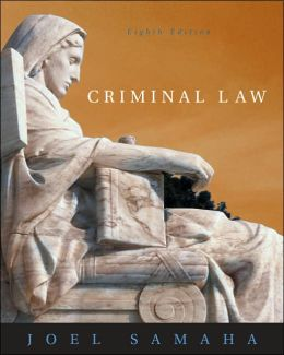 Criminal Law (with CD-ROM and InfoTrac )