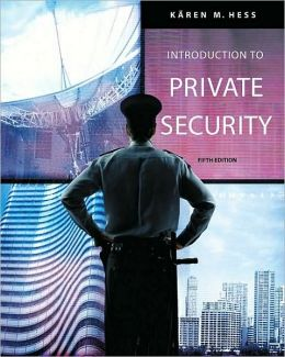 Introduction to Private Security, 5th Edition