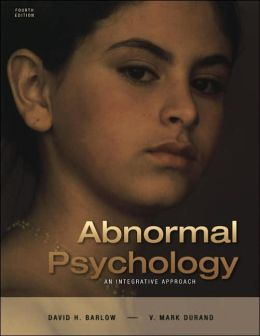 Thomson Advantage Books: Abnormal Psychology : An Integrative Approach Approach (Looseleaf Version with CD-ROM and InfoTrac)