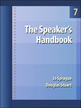 The Speaker's Handbook (with CD-ROM and InfoTrac )