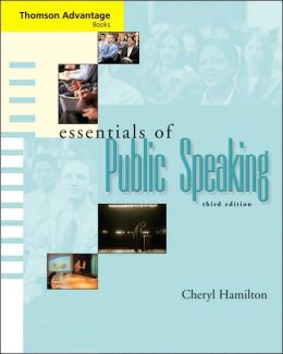 Cengage Advantage Books: Essentials of Public Speaking (with SpeechBuilder Express? and InfoTrac )