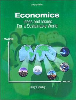 Economics: Ideas and Issues For a Sustainable World