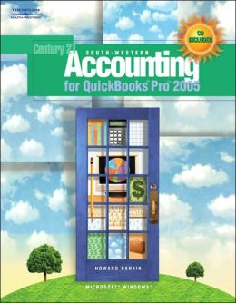South-Western Accounting for QuickBooks Pro 2005 (with Data CD)