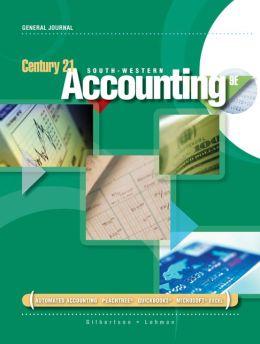 Rico Sanchez, DJ, Manual Simulation for Gilbertson/Lehman's Century 21 Accounting: General Journal, 9th
