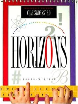 Computer Education: Horizons! Computing across the Curriculum, ClarisWorks 2.0 (MAC), Student Edition