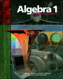 Algebra 1: An Integrated Approach